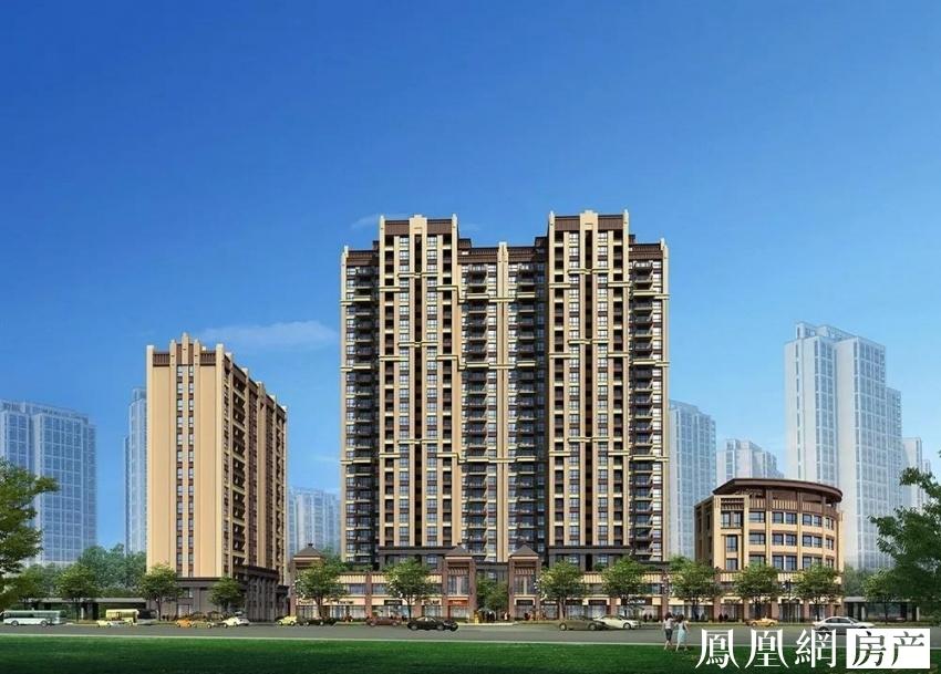 整个项目建筑风格是以现代简约,同时也融合部分欧式建筑元素,从外观