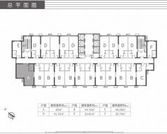 藏珑湖上公馆规划图2