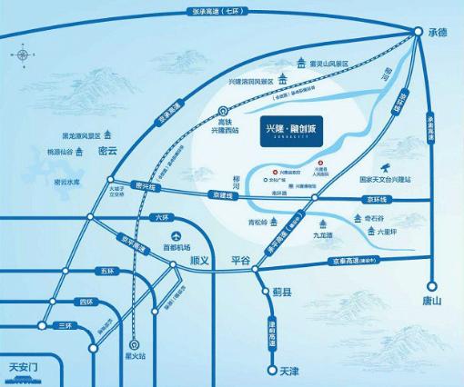 兴隆·融创城规划图2