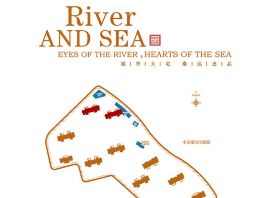 泰达城河与海