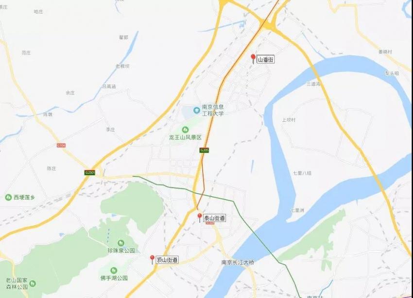 南京2019拆遷范圍曝光!江北純新盤規劃出爐圖片
