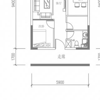E1户型(4号楼平层)
