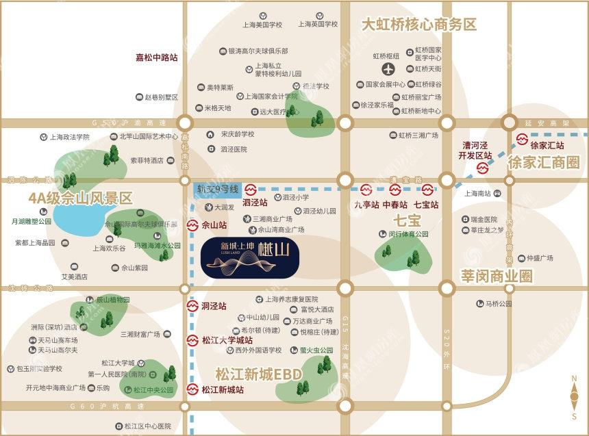 新城上坤樾山规划图2