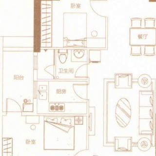豪庭08户型