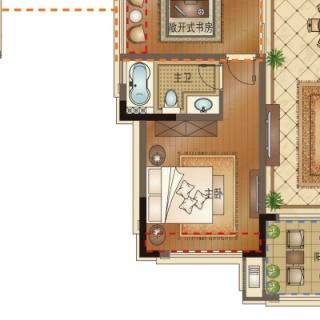 C6 四室两厅两卫 136㎡