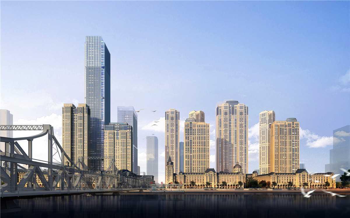 中海城市广场钻石湾效果图