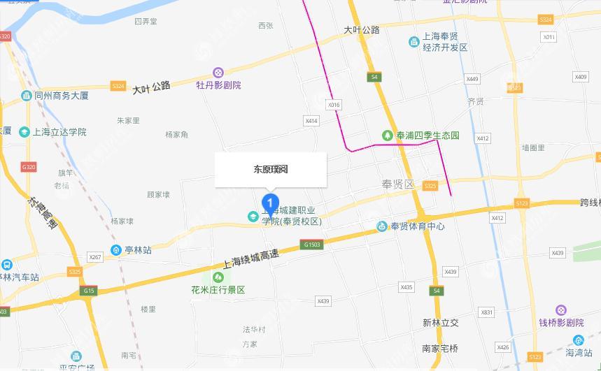 东原璞阅规划图2
